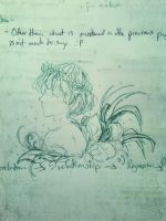 Faeries in my Exam book - Green by Bliss30