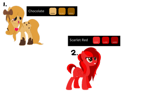My Little Pony:Friendship is Magic Adoptables OPEN by KairiFiretail