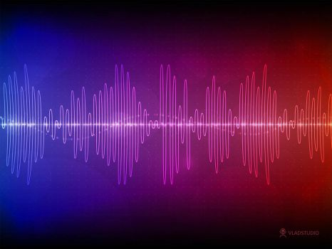 Sound Wave by vladstudio