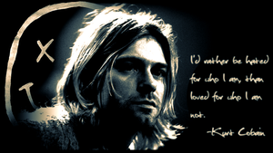 Kurt Cobain by TheMajesticGoat