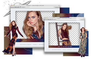 Pack Png 1016 // Cara Delevingne. by ExoticPngs