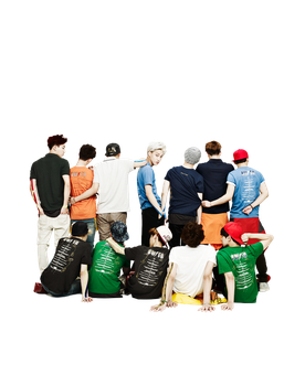 [PNG 41] EXO for Kolon Sport cf 02 by exotic-siro
