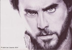Jared Leto - Pen Art by GalihDJPenArt