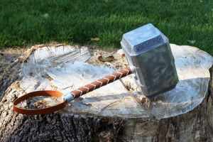 Avengers Thor Hammer 2012 g by NMTcreations