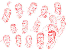 EAT MY RICHTOFEN EXPRESSIONS by CarnivorousTwinkie