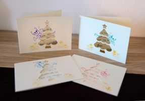 Holiday Card Project 2013 by Dragons-Garden