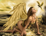 Golden Angel by tinca2