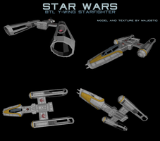 Rebel BTL Y-wing by Majestic-MSFC