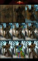 Diablo Tyrael Steps by MartinKl-art