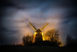 Windmill Bavenhausen by wolfgangbuhr