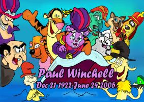 Tribute to Paul Winchell by raggyrabbit94