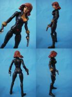 Custom Marvel Legends Black Widow 3 by cusT0M