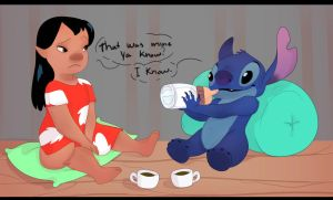 Lilo....And Stitch by leafaye