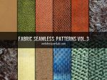 Fabric Seamless Patterns Vol. 3 by xara24