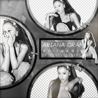 Pack PNG de Ariana Grande by ColorsPhotopack
