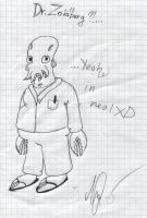 Dr. Zoidberg In Real by LeenaKill