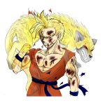 DBNS:The golden wolf -colored- by GT18