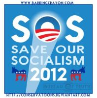 S.O.S. - Save Our Socialism by Conservatoons