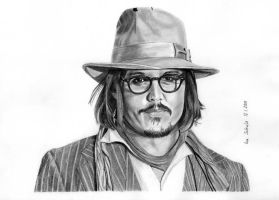Johnny Depp - Berlin 2010 - 2 by shaman-art
