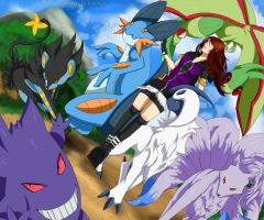 My Pokemon Team by RhIVenX