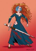 Merida The Brave...Heart by Kaj-Man