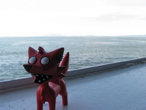 Crazy Coyote goes to Victoria by CaptainCheezmo