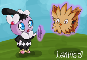 Sketchy: Catching Lillipup by iLantiis