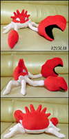 Kingler Plush by d215lab
