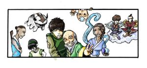 Avatar Spirit Group Picture by PetitJedi