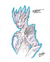 Ultraman Saga Sketch by Onore-Otaku