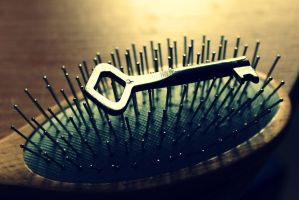 Key to beautiful hair... :) by Peterdoesphotography