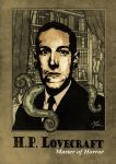 H.P. Lovecraft by muzski