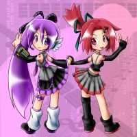 Trade: Fuyu and Sora by qrullgx13