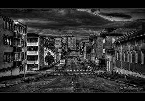Wide empty streets by wchild