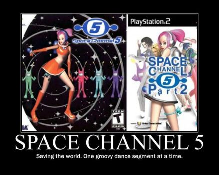 Space Channel 5 Poster by SilverBlade234