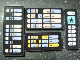 LCARS Keypad Collection by CmdrKerner