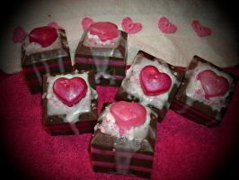 Petit Four Soaps by bhudicae