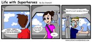 Life with Superheroes #4 by ZacAvalanche