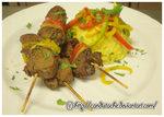 Beef Skewers by Candistache