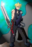 Cloud Strife - Advent Children by coldangel1