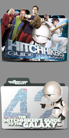The Hitchhiker's Guide To The Galaxy Folder Icon by Andreas86