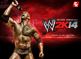 WWE 2k14 Custom Start Up Screen V2 by HTN4ever