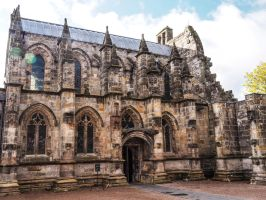 This is Rosslyn Chapel. 1 Scotland by jennystokes