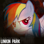 Linkin Park - Burn It Down (Rainbow Dash) by AdrianImpalaMata