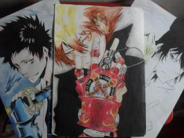 Vongola Character Gears by xxDevilsAngel28xx