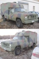 M880 CUCV (1976 Dodge W300 Power Wagon) by Deorse