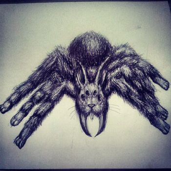 spideRabbit pen by DrChainsawHandz