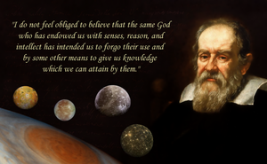 Galileo on Reason and God by hanciong