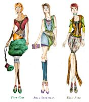 Fashion Sketches Collection by elegance2255