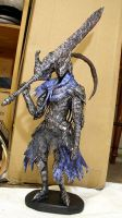 Dark Souls Artorias the Abysswalker Statue by futantshadow